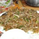 Bún xào ngán- Món độc đáo Quảng Ninh