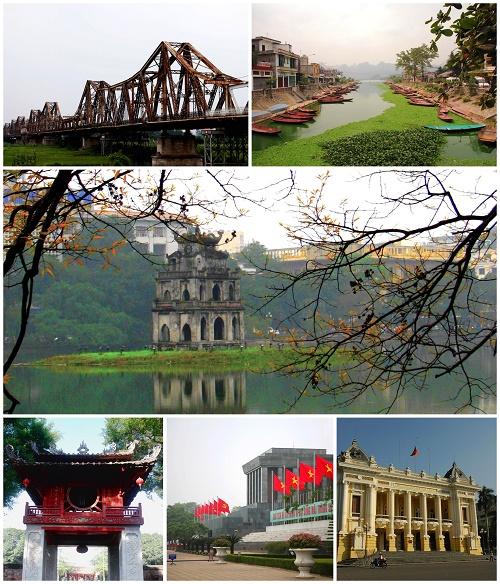 City tour tham quan thành phố Hà Nội