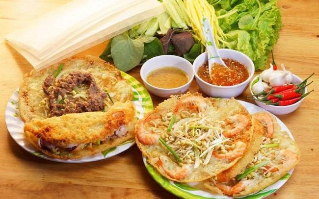 Bánh xèo đặc sản Quảng Bình